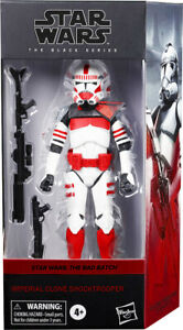 "Star Wars New Black Series 6"" Bad Batch 007 Imperial Clone Shock Trooper Walmart"