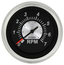 Sierra Black Sterling Tachometer 0-7000 RPM