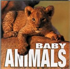 BABY ANIMALS -  Cube Book:  Fabulous Photography  - NEW -  Gift  Idea