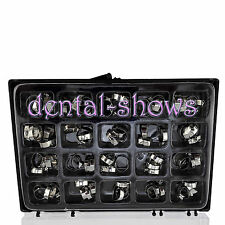 Sale! 80Pcs/Kit Ortho Dental Roth Molar Bands 2H UPER 1H / Lower 20 Sizes D-Ss