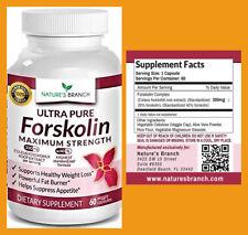 FORSKOLIN Extract Appetite Suppressant Fat Burner Pills 60CT NATURE's Branch