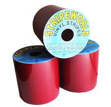 12mm self-adhesive Burgundy vinyl stripe for car 2 for1 offer sold by the metre