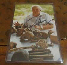 Richard Leakey paleoanthropologist signed autographed photo Conservationalist