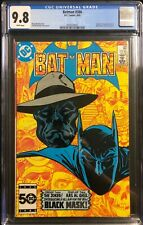 Batman #386 CGC 9.8 Origin & 1st Appearance of the Black Mask (Roman Sionis)