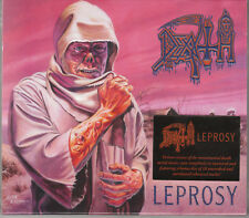 DEATH 1988 2CD - Leprosy (Remastered 2014) Autopsy/Massacre/Pestilence - SEALED