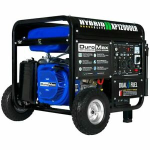 DuroMax XP12000EH 12,000-Watt 18 HP Portable Hybrid Gas Propane Generator*