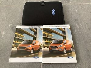 Ford Transit Custom Owners Handbook/Manual and Pack 18-20