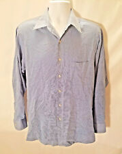 Geoffrey Beene Men's Fitted Wrinkle Free L/S Button Down Shirt SZ L 15.5(34-35)