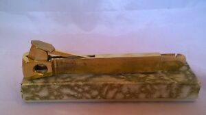 Vintage Boxed Germany Gold Plate Cigar Cutter