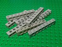 Lego Technik Technic 10 Lochbalken 1x8 alt-hellgrau #3702