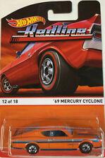 Hot Wheels Mercury Diecast Vehicles