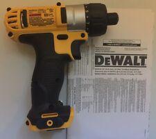 """DEWALT DCF610 DCF610B 12V 12 Volt Max Lithium-Ion 1/4"""" Cordless Hex Screwdriver"""
