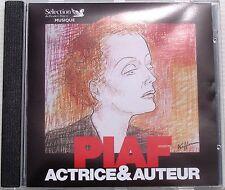 EDITH PIAF . PIAF  ACTRICE & AUTEUR . COMPILATION READER'S DIGEST . CD