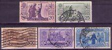 REGNO D'ITALIA - VII° CENTENARIO ANTONIANO - 5 RARI FRANCOBOLLI - 1931