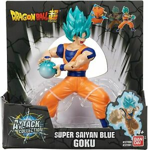 Dragon Ball Super Attack Collection Super Saiyan Blue Goku Figure In Hand NEW