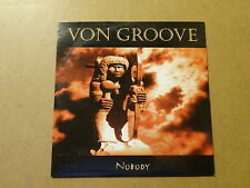 CD SINGLE / VON GROOVE: NOBODY