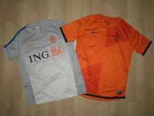 NETHERLANDS NIKE HOME & TRAINING FOOTBALL SHIRTS L - LARGE BOYS, AGE 12-13