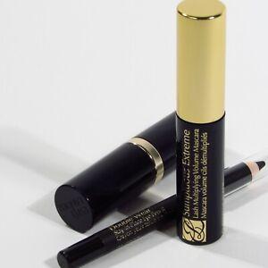 Estee Lauder Sumptuous Extreme Mascara Double Wear Eyeliner Onyx Rose Lip