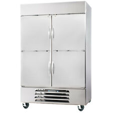 Beverage Air Hbr49-1-Hs Half Solid Door Two Section Reach-In Refrigerator