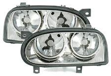 DEPO Lightning SCHEINWERFER SET für VW GOLF 3 alle H7 in KLARGLAS