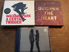 Maxïmo Park [3 CD ALBUM] Our Earthly Pleasures + trigger + Quicken the Heart