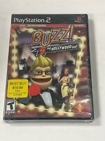 BUZZ!: THE HOLLYWOOD QUIZ PLAYSTATION 2 PS2 New sealed