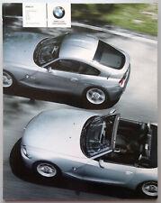 V10472 BMW Z4 COUPE & ROADSTER