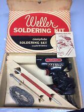 Weller Soldering Kit Junior Model 8100 K Vintage