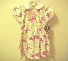 Girls Dress & Panties 24 Month Carters Pink Butterfly Flowers Toddler New