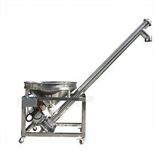 Powder Feeder Height All-Fill Sanitary Inclined Portable Screw Conveyor ~ HZSL-B