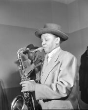 Jazz Musician ILLINOIS JACQUET Glossy 8x10 Photo Saxophonist Glossy Print Poster