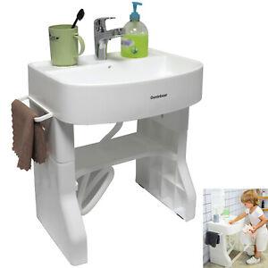 Washstand Self-care Station Child Baby Early Learning Plastic Washbasin Simulati