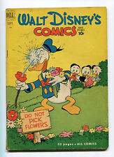 WALY DISNEY COMICS AND STORIES #132 (4.5) BARKS ART 1951