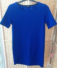 "George asda Royal Blue Textured Dress Size 10 - 12 36"" Bust"
