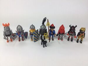 8x Playmobil Knights Complete