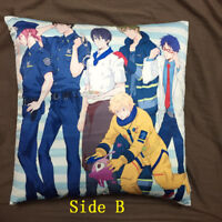 Anime Free Iwatobi Swim Club two sided Pillow cushion Case Cover cosplay 46