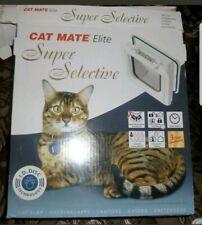 Cat Mate Elite Super Selective Pet Id Cat Door With Timer Control 305w
