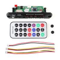 Auto Decoder Digital Audio 12V MP3 Player Mini Amplifier Panel FM Radio USB TF