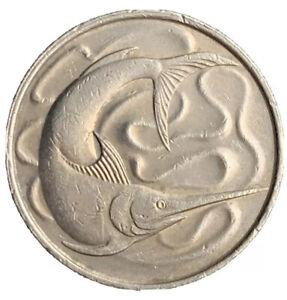 1981, Singapore 20 Cents KM# 4
