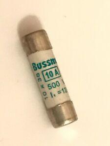 BUSSMANN C10M10 aM  10A  FUSE SIZE 10 X 38    (X1 FUSE)                   faa12X