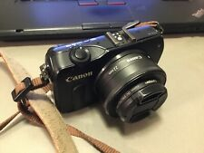 Canon EOS M 18.0MP Digital Camera - With Nearly New EF-M 22mm Lens