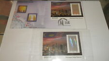 n malaysia 1999 fdc petronas twin tower ms and ms mint number 2xxxx6,