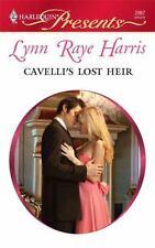 Cavelli's Lost Heir [Jan 01, 2010] Raye Harris, Lynn