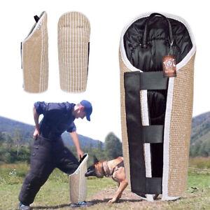 Durable Jute Intermediate Dog Bite Leg Protection Sleeve for K9 Training Working