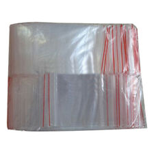 New 200Pcs Ziplock verrouillage zippee Poly claires Sacs Zip plastique (7*10cm)