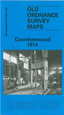 OLD ORDNANCE SURVEY MAP COOMBESWOOD 1914