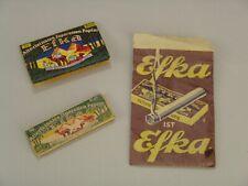 #2628 - Konvolut altes EFKA Zigarettenpapier - EFKA Papiertüte