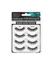 4 Pairs Ardell Natural Style Multipack Eye Lashes Number 101 Demi Black
