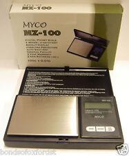 Myco Mz-100 Digital Pocket Scale 100g X 0.01 g