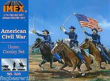 IMEX 503 Unión caballería de la guerra civil. 1:72 Scale. sin Pintar Figuras de Plástico